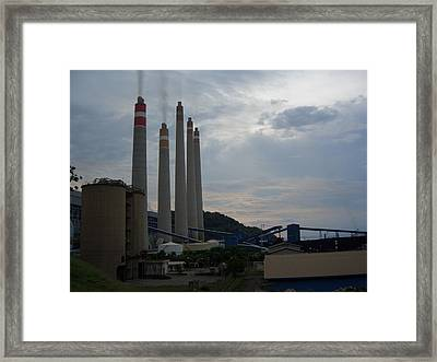 Power Plant Framed Print