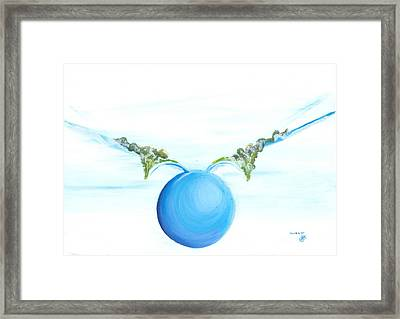 Power To Fly Framed Print