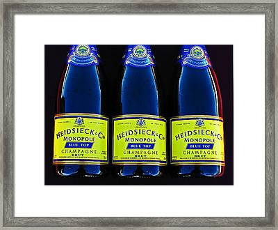 Power Trio Framed Print by Samuel Sheats