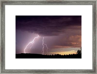 Power Unleashed Framed Print
