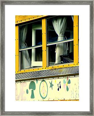 Powered By Magic Framed Print