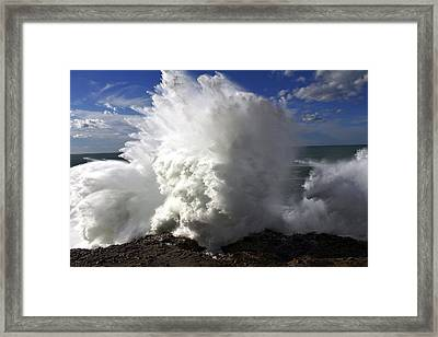 Powered By Nature Framed Print