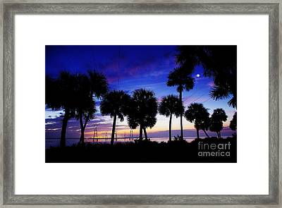 Powering Up The Day Framed Print