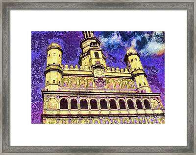 Poznan City Hall Framed Print by Mo T