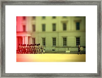 Practice Makes Perfect Framed Print by Jasna Buncic