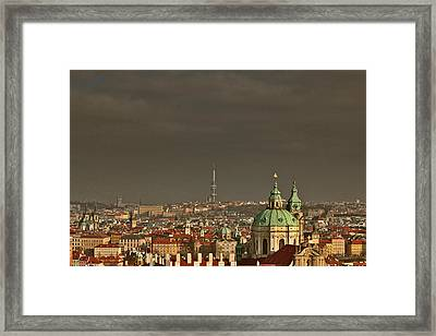 Prague - A Symphony In Stone Framed Print by Christine Till
