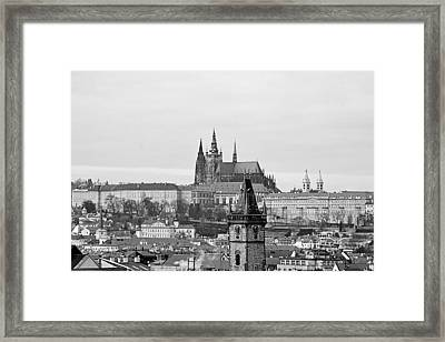 Prague - City Of A Hundred Spires Framed Print by Christine Till
