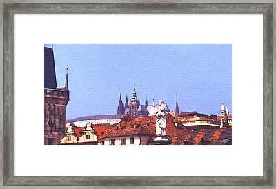 Prague Castle Framed Print