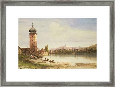 Prague Czechoslovakia Framed Print