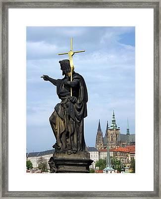 Praha Carlov Most  Framed Print by Yury Bashkin