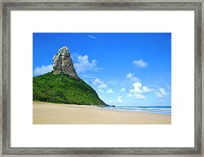 Praia Da Conceição Framed Print by Nicolas Vallejos Photography and Design