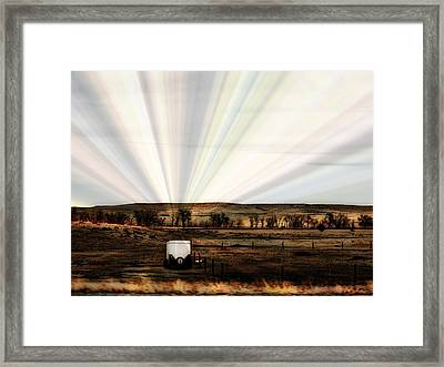 Framed Print featuring the photograph Prairie by Clarice  Lakota
