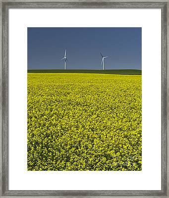 Prairie Generations Framed Print by Royce Howland