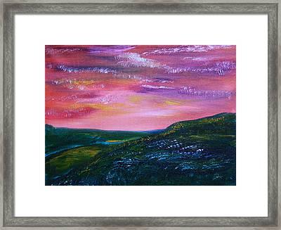 Prairie Lights Framed Print by James Bryron Love