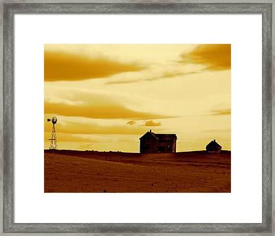 Prairie Memories Framed Print