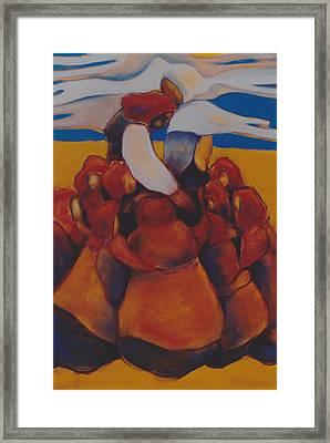 Framed Print featuring the painting Prairie Prayer by Irena Mohr