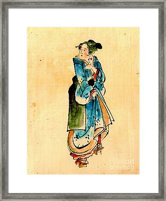 Prancing Beauty 1840 Framed Print by Padre Art