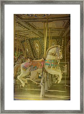 Prancing Steed Framed Print by Jan Amiss Photography
