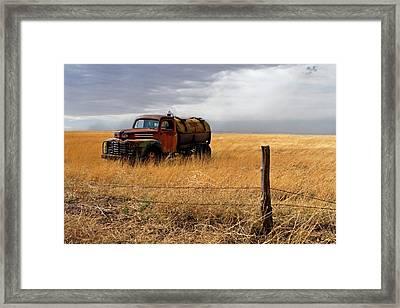 Prarie Truck Framed Print