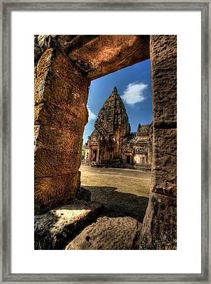 Prasat Phnom Rung Framed Print by Adrian Evans