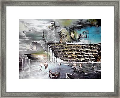 Prayer Framed Print by Lior Kimmel