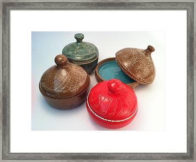 Prayer Pots Framed Print