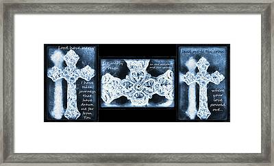 Prayer Triptych 1 Framed Print