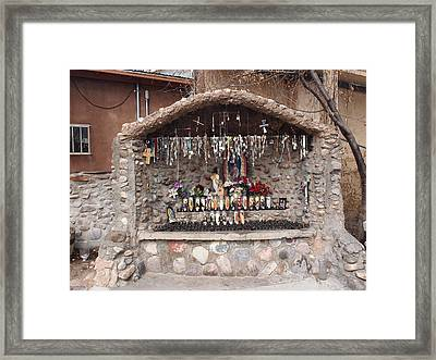 Prayers At Chimayo  Framed Print