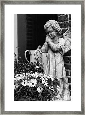 Prayers Framed Print by Leslie Leda