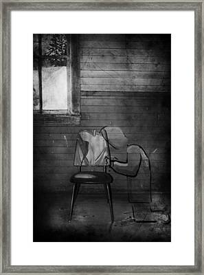 Prayers Of Love  Framed Print by Empty Wall