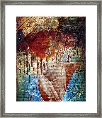Pre Election In Africa Framed Print by Fania Simon