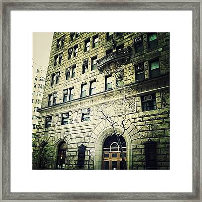 Pre-war Landmark Framed Print by Natasha Marco