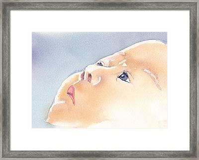 Precious Calm Framed Print by Lynn Babineau