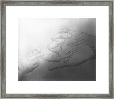 Precious Touch Framed Print by Kume Bryant