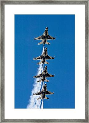 Framed Print featuring the photograph Precision by Dan Wells