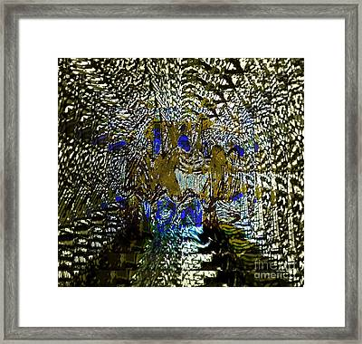 Prediction - Between The Teacher And His Student Framed Print by Fania Simon