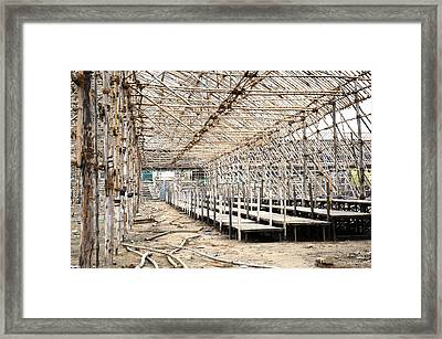Preparation Of A Circus Framed Print by Sumit Mehndiratta