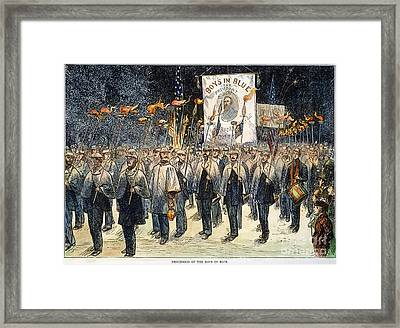 Pres. Campaign, 1876 Framed Print by Granger