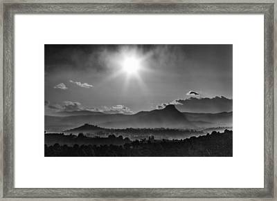Prescott Az No 416 Framed Print by James Bethanis