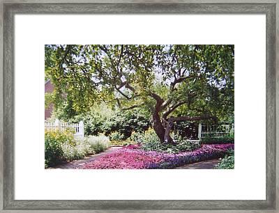 Prescott Park Nh Framed Print by Michel Croteau
