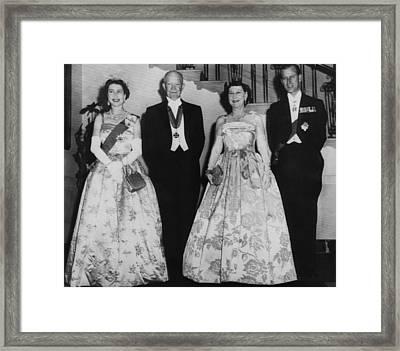 President Dwight D. Eisenhower Framed Print by Everett