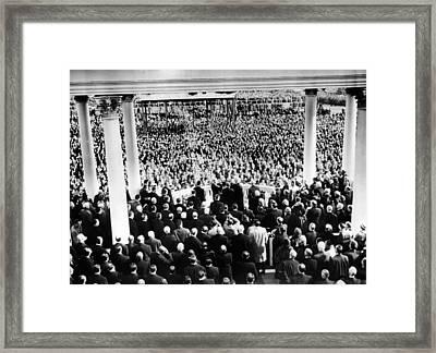 President Eisenhowers First Framed Print by Everett