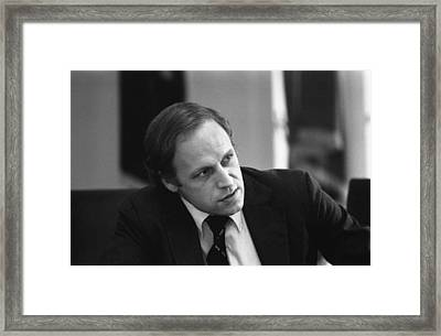 President Fords Chief Of Staff Dick Framed Print by Everett