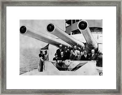 President Franklin D. Roosevelt Frnt Framed Print