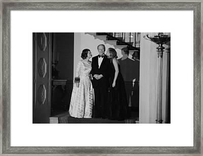 President Gerald Ford Betty Ford Framed Print