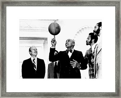 President Gerald Ford, Enjoys Framed Print