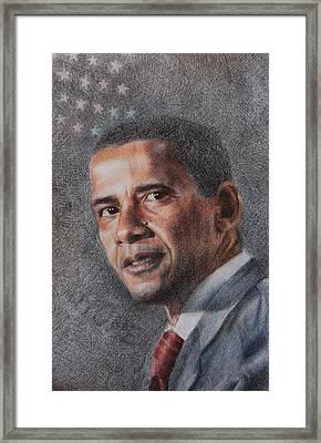 President Framed Print by Joanna Gates