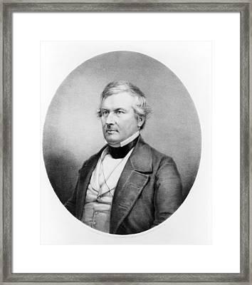 President Millard Fillmore - C 1850 Framed Print