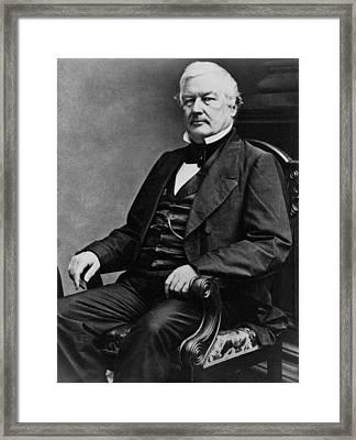 President Millard Fillmore Framed Print