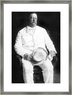 President William Howard Taft, 13008 Framed Print
